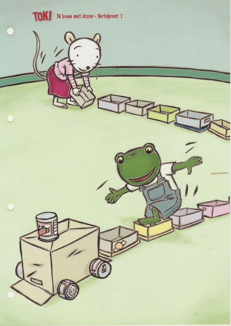 Ik speel met dozen!