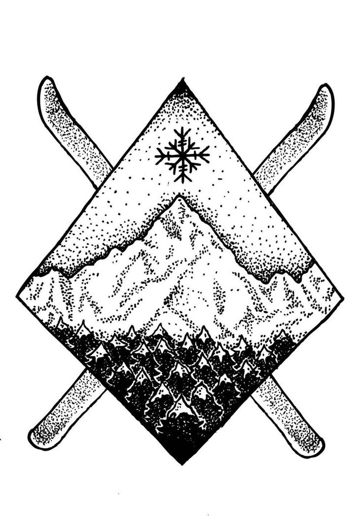 winter tattoo - Google Search                              …