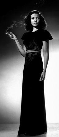 Gene Tierney, 1941