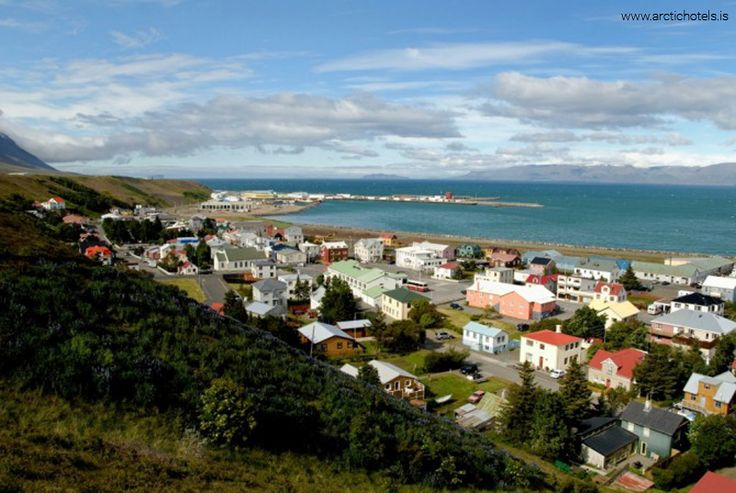 The beautiful Sauðárkrókur town in North Iceland is a lovely place to bask in the glory of nature!