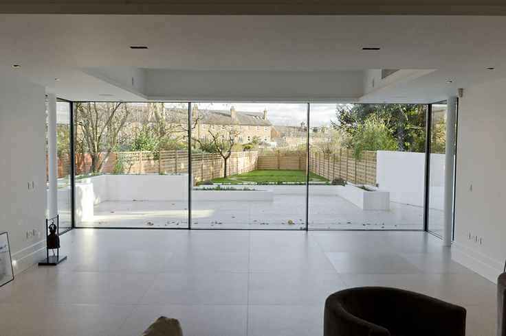 Slim Framed Sliding Doors House Ideas Pinterest