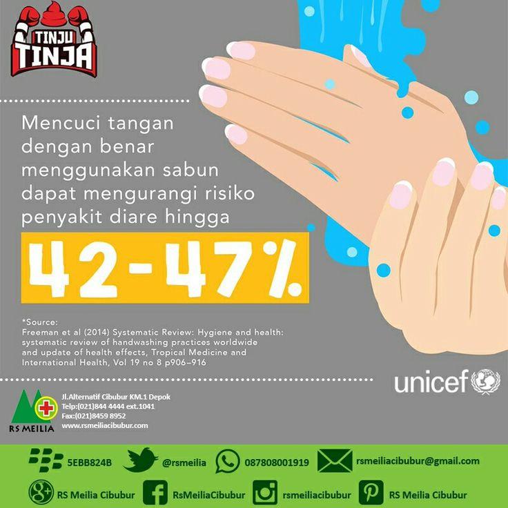 Bersih #cuci #tangan #diare #unicef #layanan #dokter #rsmeilia #cibubur #depok #cileungsi #bekasi #bogor #jakarta #tangerang #indonesia