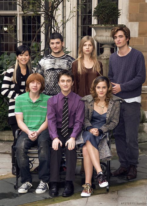 Goblet of Fire.  Love love love this picture!  Seriously, a picture with Rupert AND Robert?  Yup.