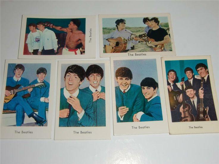 The Beatles på Tradera. Filmstjärnor | Samlarbilder | Samlarsaker
