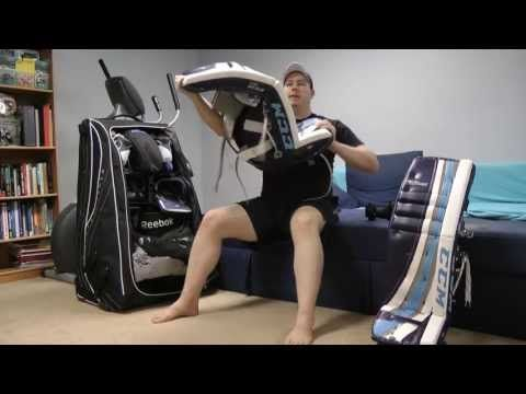 A question I'm often asked is how I break in my goalie equipment. In this tutorial I show how I quickly break in my leg pads, catcher, and blocker to make them game ready, usually in less than 24-36 hours. As always, if you ever have any questions, feel free to ask!