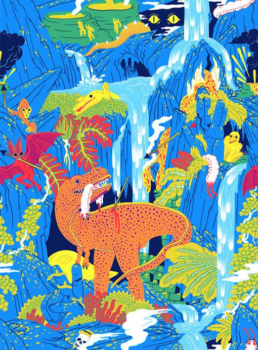 Micah Lidberg: Lacoste L!ve Patterns