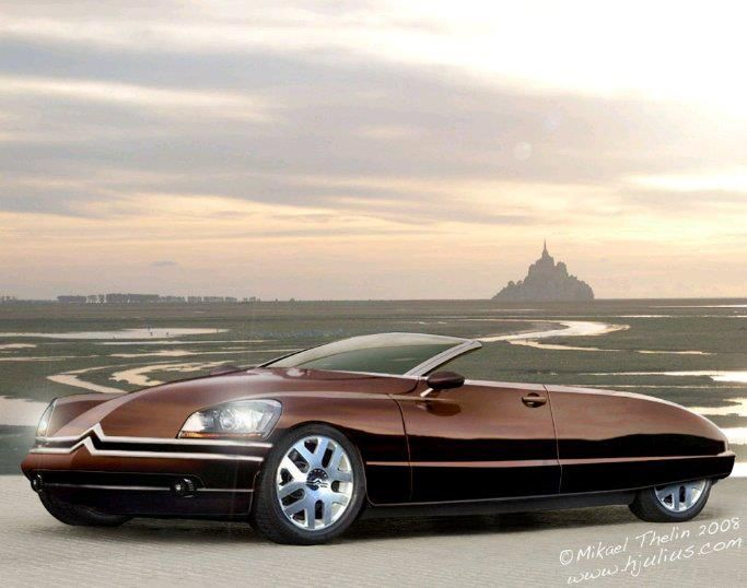 Citroën DS concept - build it and they will surely come.