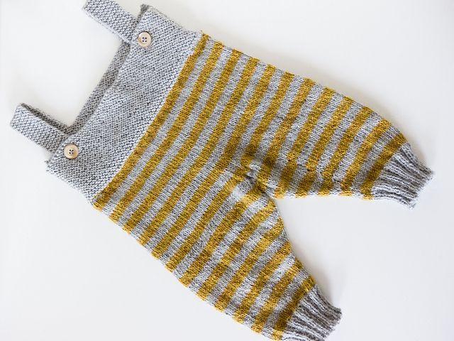 Ravelry: Beverline's Salopette http://www.ravelry.com/projects/Beverline/b18-14-jacket-jumpsuit-bonnet-and-socks-in-alpaca