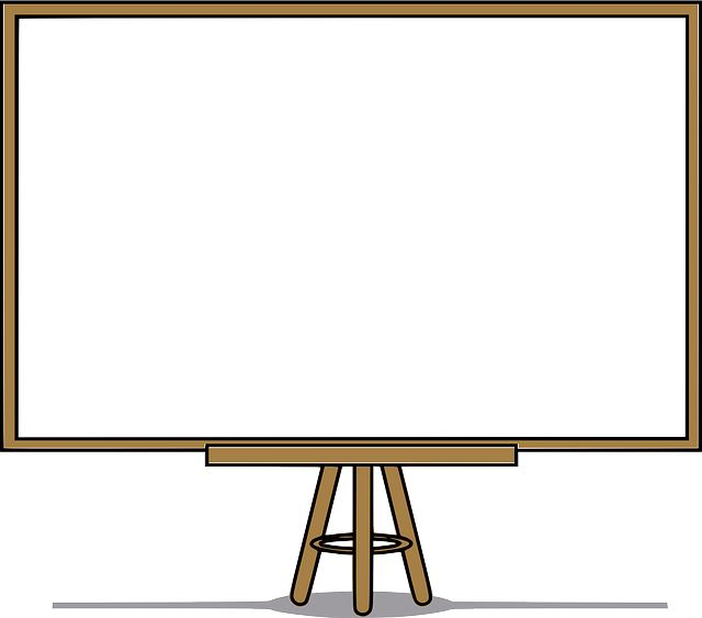 Whiteboard, White Board, Blank, Presentation, Board