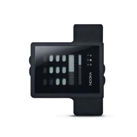 Nooka ZUB ZAYU Black Digital Watch
