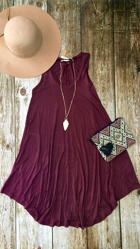 Love this color and how comfy this looks for summer! Blair Dress - EternalStyle.Boutique