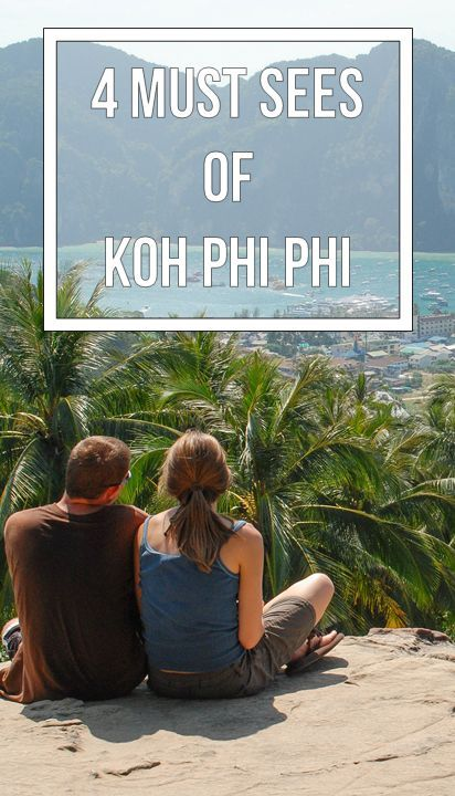 Koh Phi Phi, Thailand on Pinterest