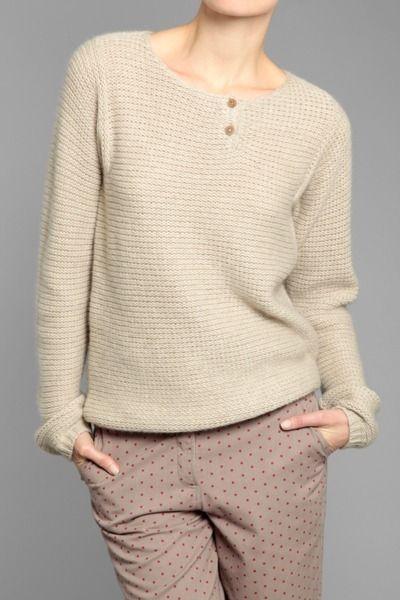 bliss blog - i heartmonday:: Chinti and Parker Grandad sweater