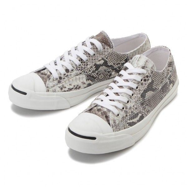 JACK PURCELL NATURALPYTHON LEATHER