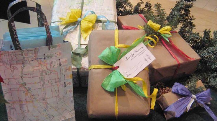 Toronto Green Community - I try & eco-wrap each year at MEC