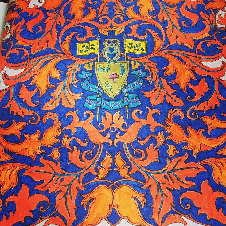 Like fire... #art #artwork #arttherapy #ateş #alev #book #brightcolors #bird #baykuş #color #coloring #coloringbook #draw #enchantedforest #fire #gizemliorman #hobby #johannabasford #kuş #kitap #owl #painting #renk #renkler #relax #terapi #therapy #flag #bayrak