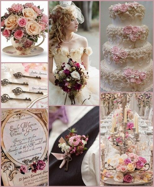 Victorian Wedding Ideas from HotRef.com #victorianwedding