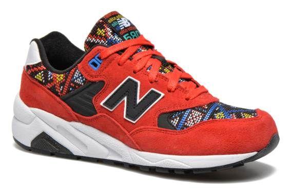 New Balance WRT580 Rood - Sneakers bij Sarenza.nl (238271) | Color Me  Statement Shoe-Shoes | Pinterest | Beautiful shoes