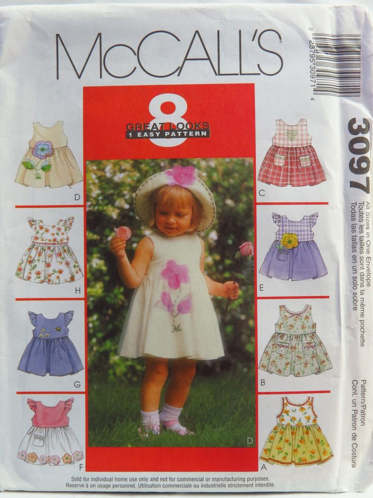 61 best 8 Great Looks One Easy Sewing Pattern images on Pinterest ...