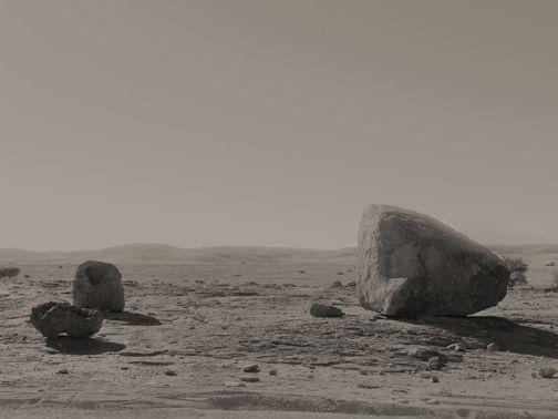 Landsacape in Namibia desert photographed by Anna Mizgajska.
