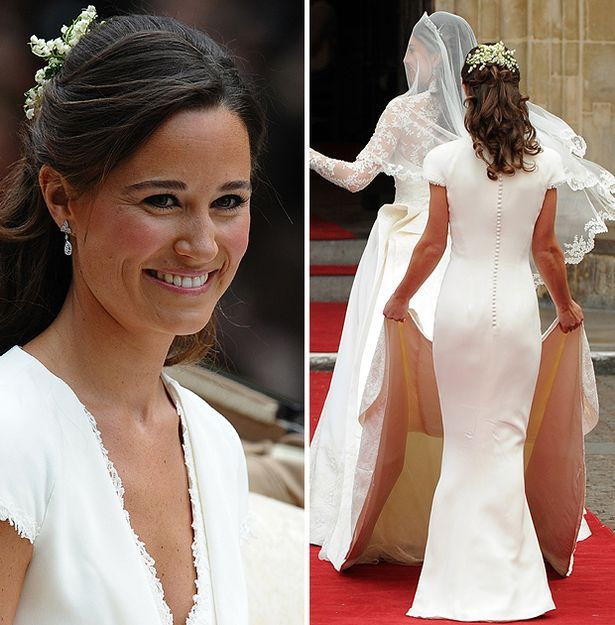 pippa middleton at scottish wedding