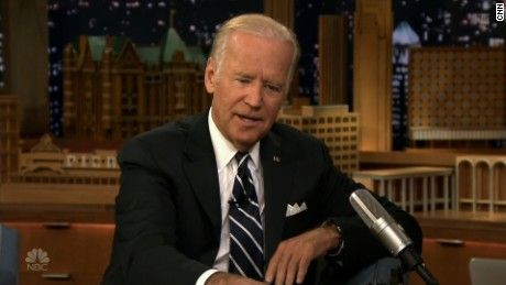 Vice President Joe Biden appeared on 'The Tonight Show' to talk about Trump's performance in the first presidential debate.