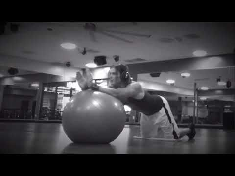 Pilates ball rollout: Here's another quick sample of my Online Video Personal Training Program. Train with me from anywhere in the world. Your workouts will be tailored to you by me. Message me for your free trial workout   larryflemingpersonaltrainer.com/online-training