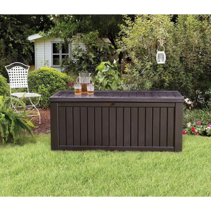 17 Best Ideas About Deck Storage Bench On Pinterest