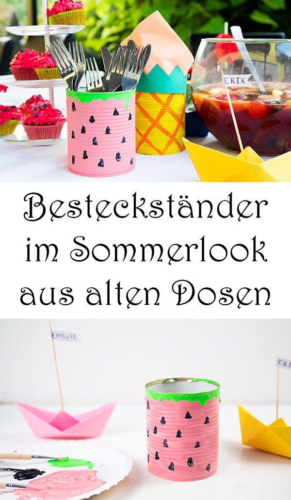 10 Sommer Party Ideen: Deko und Rezepte (mit silwy magnetic drinkware)