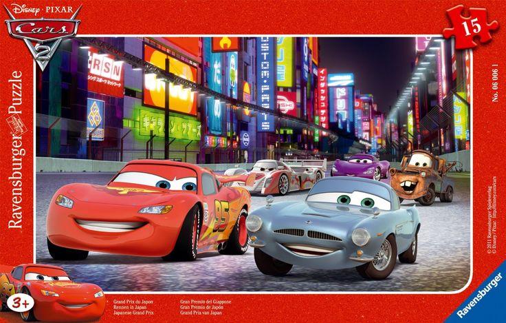 Ravensburger Puzzle Frame Disney Pixar Cars 2 Japanese