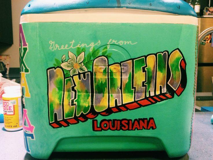Lambda chi alpha formal cooler New Orleans