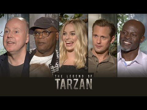 Get The Legend of Tarzan tickets & showtimes: http://regmovi.es/292JRIM  The Legend of Tarzan opens July 1st at Regal Cinemas everywhere! In this episode, Matthew Hoffman sits down with the cast of The Legend of Tarzan to get the scoop on Skarsgård's incredible body transformation, practice the iconic Tarzan yell, and give Tarzan himself a very special surprise. Who will you be seeing this movie with? Tag them in the comments below!