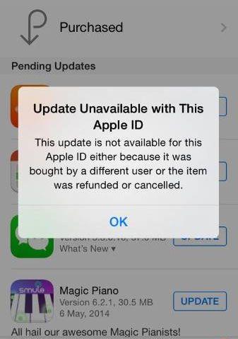 iOS-пользователи жалуются на проблемы с обновлением приложений из App Store