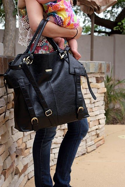 perhaps a diaper bag big enough for me? Omg I need this.. mothers day gift anyone?