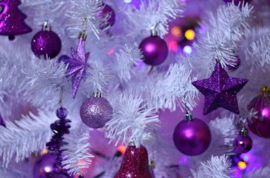 79 best purple christmas images on pinterest purple - Purple christmas desktop wallpaper ...