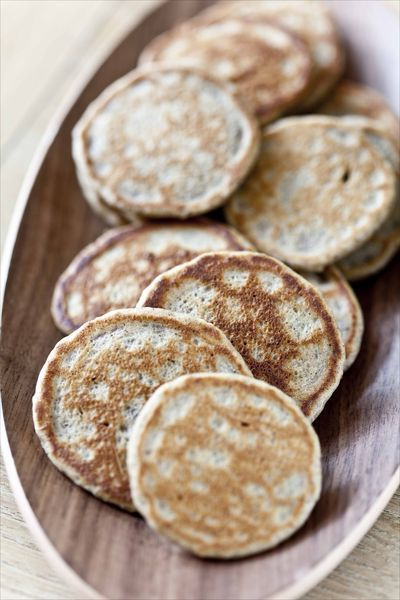 blinis au sarrasin