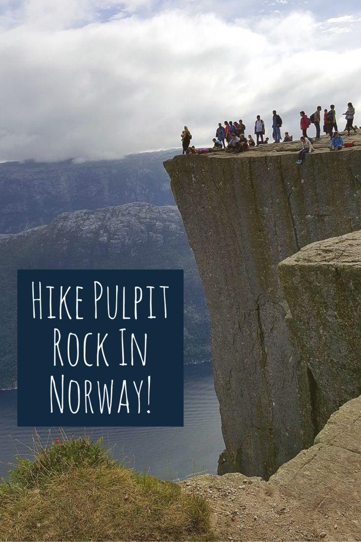 Preikestolen hike, Stavanger to Pulpit Rock, Preikestolen weather