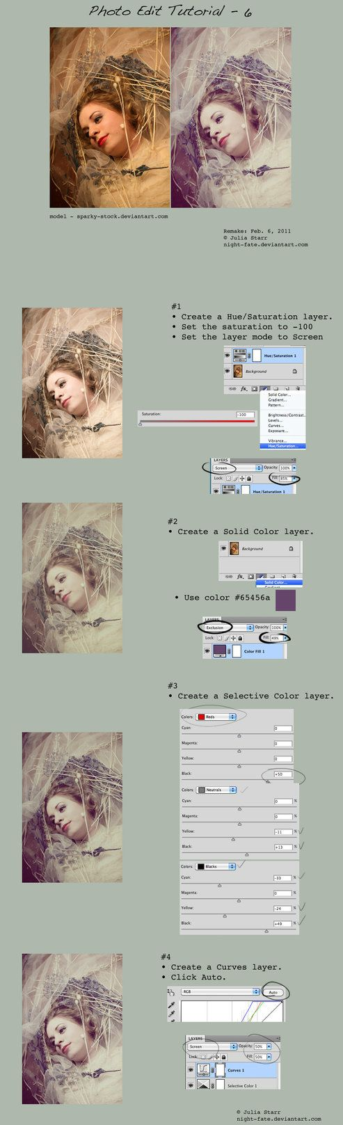 Post Processing In Digital Photography Photoshop And Mac
