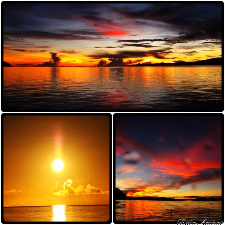 Sunset @Raja Ampat Indonesia