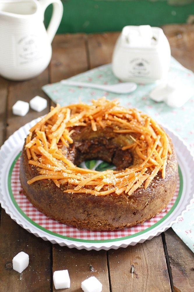 Rica y saludable torta de zanahoria / http://cakesparati.blogspot.com.es