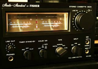 The VU meter | The Stereo Museum / FISHER CR-4150 (aka SANYO RD-880)