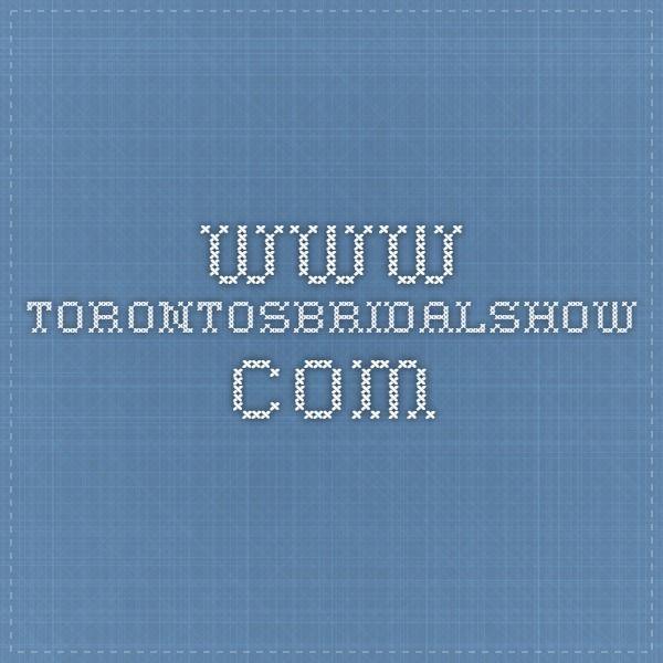 www.torontosbridalshow.com
