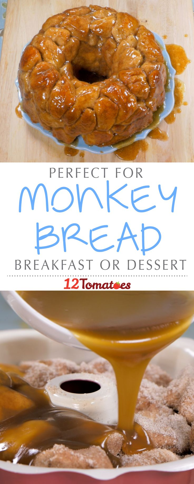 If you've ever heard of or tried monkey bread, you'll be thrilled to see this recipe. If not, let us let you in a little secret: monkey bread is one of the best breakfast/desserts we've ever made.