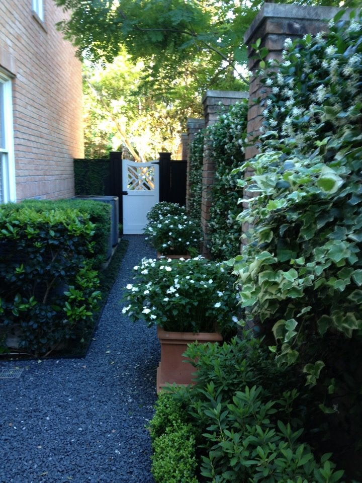 17 best Narrow Side Yards images on Pinterest | Landscaping ...