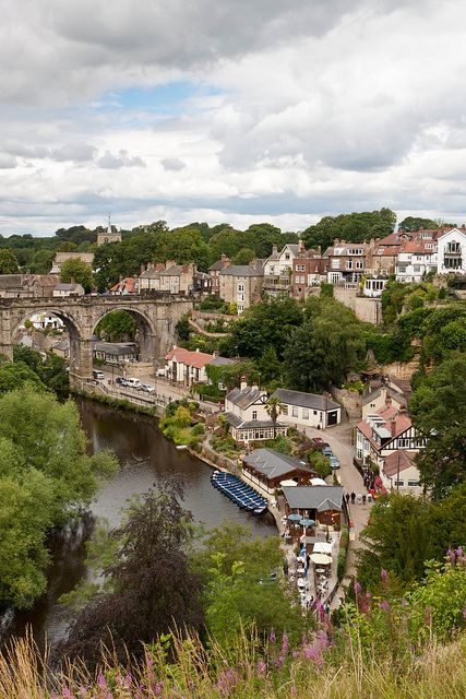A stunning shot of Knaresborough, near Harrogate.