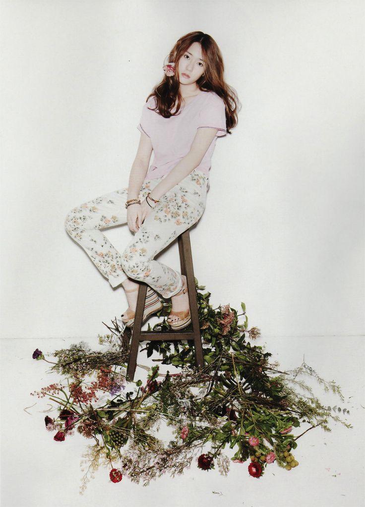 crude photo, flowery pants