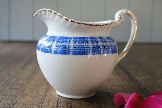Johnson Brothers Old English Jug for Sauces Milk by FoundByHer