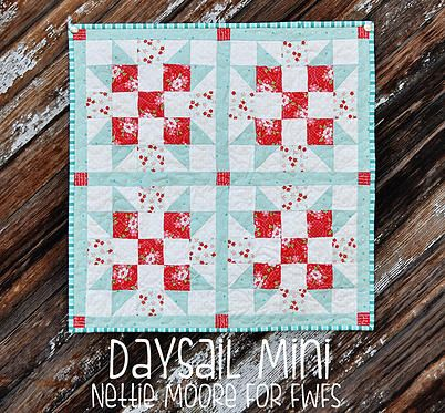 Я люблю пэчворк | I love patchwork | МК. Мини-квилт