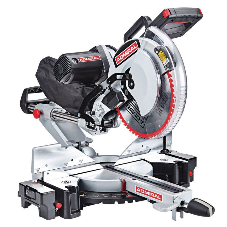 The Admiral 12 In Dual Bevel Sliding Compound Miter Saw Sku 64686 Is On Sale For 169 99 With Code 9 Sliding Compound Miter Saw Miter Saw Compound Mitre Saw