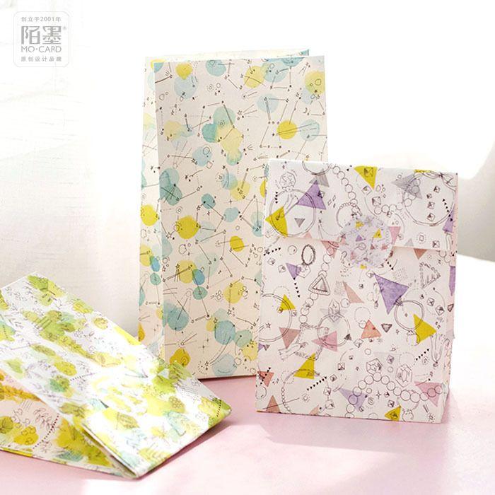 230*130*80mm/Hot The landscape of the world Kraft Paper Gift Envelope/Festival gift bags/Paper bag /wholesale 60 pcs/1 lot #Affiliate